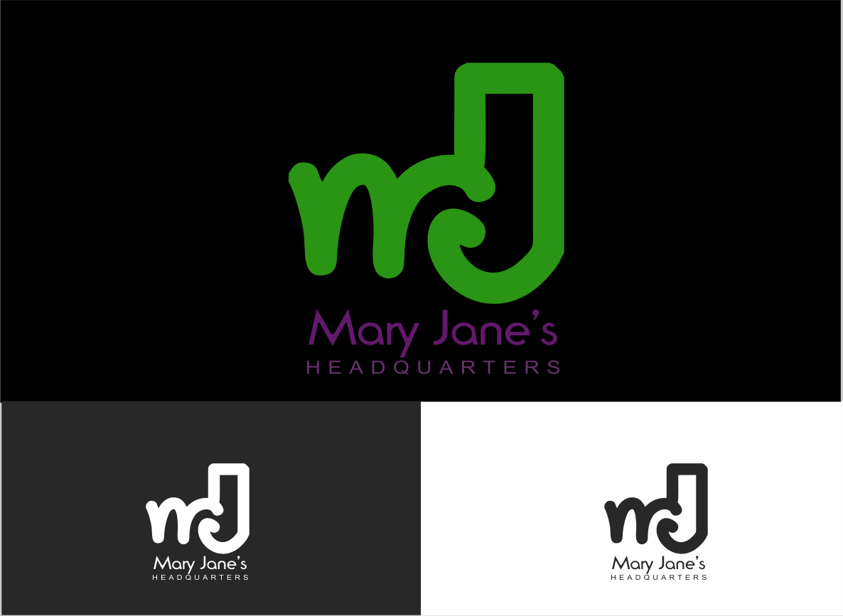 Logo Design by Private User - Entry No. 78 in the Logo Design Contest Mary Jane's Headquarters Logo Design.