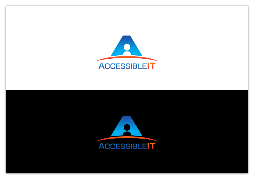 Logo Design by Hugh Breant Bardoquillo - Entry No. 25 in the Logo Design Contest Logo Design Needed for Exciting New Company Accessible IT.