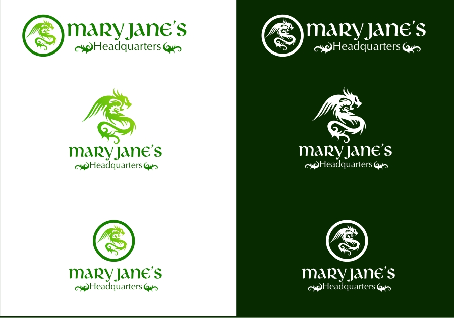 Logo Design by Private User - Entry No. 80 in the Logo Design Contest Mary Jane's Headquarters Logo Design.