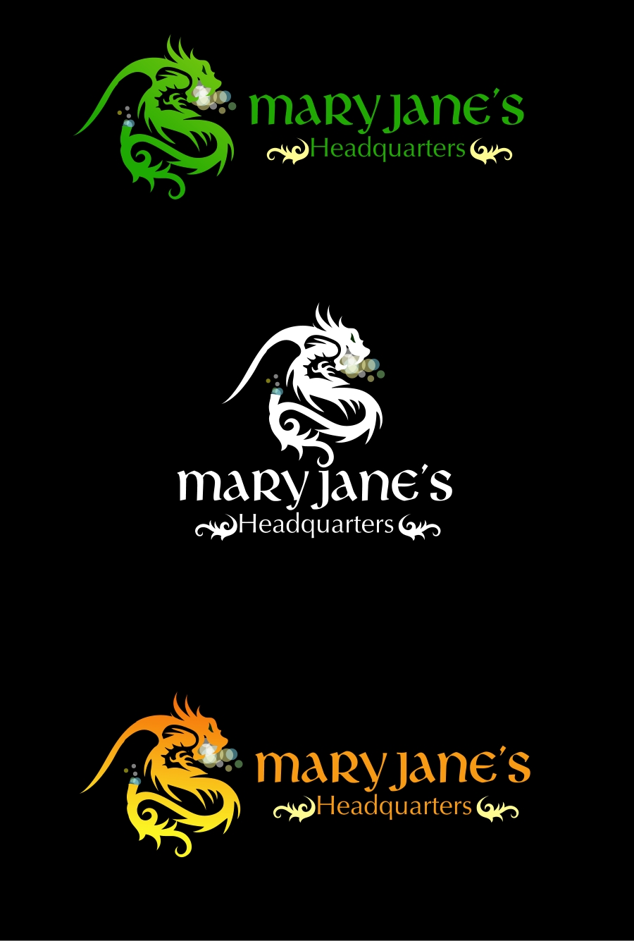 Logo Design by Private User - Entry No. 81 in the Logo Design Contest Mary Jane's Headquarters Logo Design.