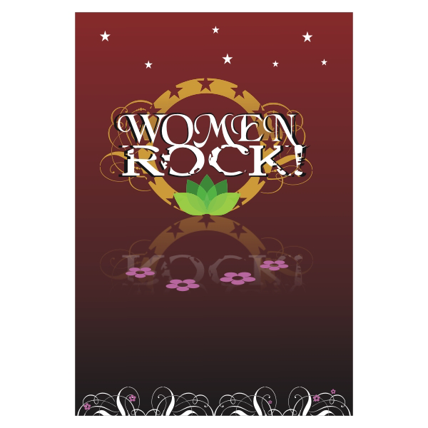 Logo Design by aspstudio - Entry No. 15 in the Logo Design Contest Women ROCK! - Dress for Success Pittsburgh.