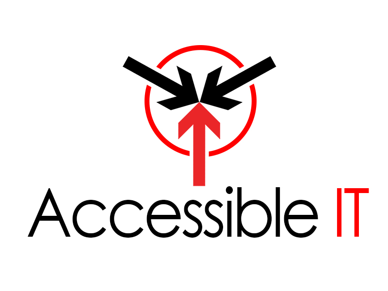 Logo Design by Mythos Designs - Entry No. 27 in the Logo Design Contest Logo Design Needed for Exciting New Company Accessible IT.