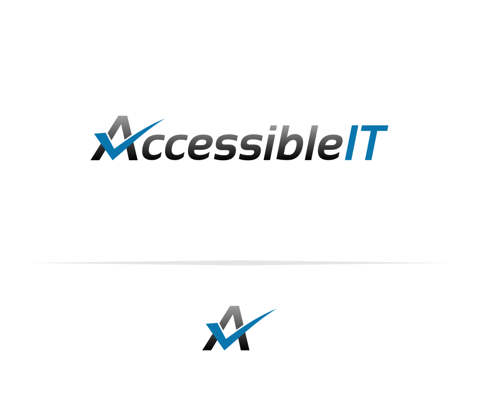Logo Design by Mitchnick Sunardi - Entry No. 31 in the Logo Design Contest Logo Design Needed for Exciting New Company Accessible IT.