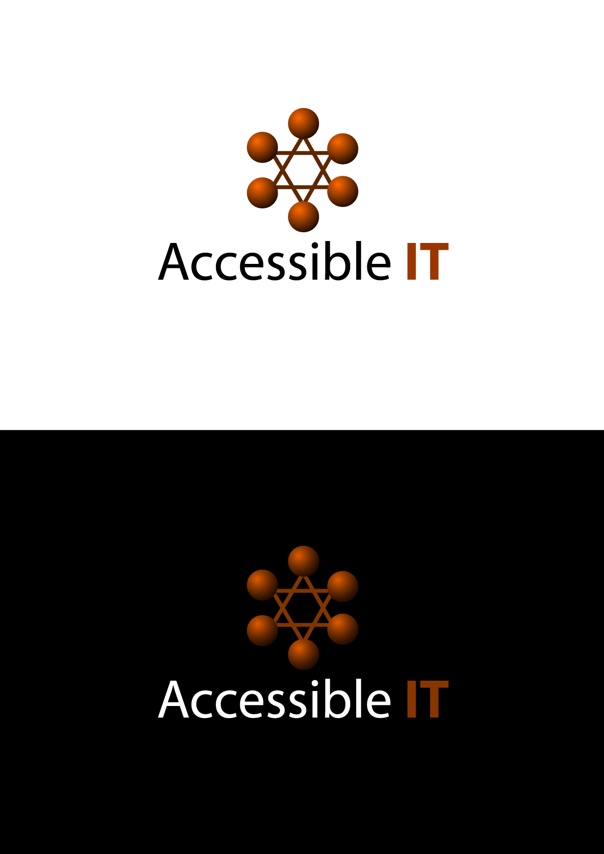 Logo Design by Wilfredo Mendoza - Entry No. 32 in the Logo Design Contest Logo Design Needed for Exciting New Company Accessible IT.