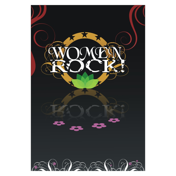 Logo Design by aspstudio - Entry No. 18 in the Logo Design Contest Women ROCK! - Dress for Success Pittsburgh.