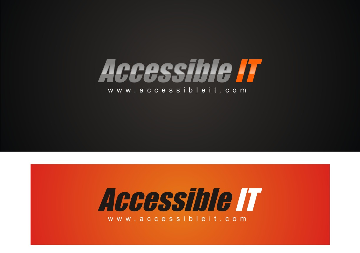 Logo Design by Private User - Entry No. 35 in the Logo Design Contest Logo Design Needed for Exciting New Company Accessible IT.