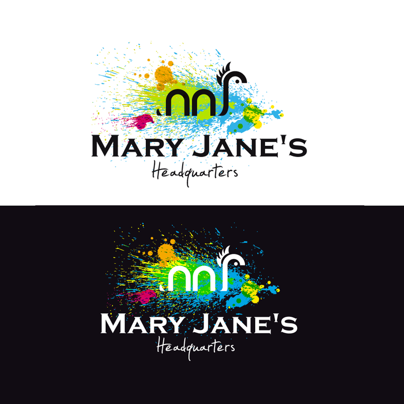 Logo Design by luna - Entry No. 84 in the Logo Design Contest Mary Jane's Headquarters Logo Design.
