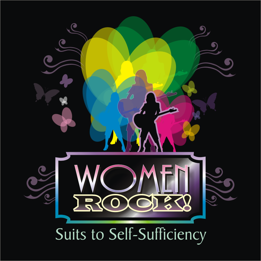 Logo Design by montoshlall - Entry No. 19 in the Logo Design Contest Women ROCK! - Dress for Success Pittsburgh.