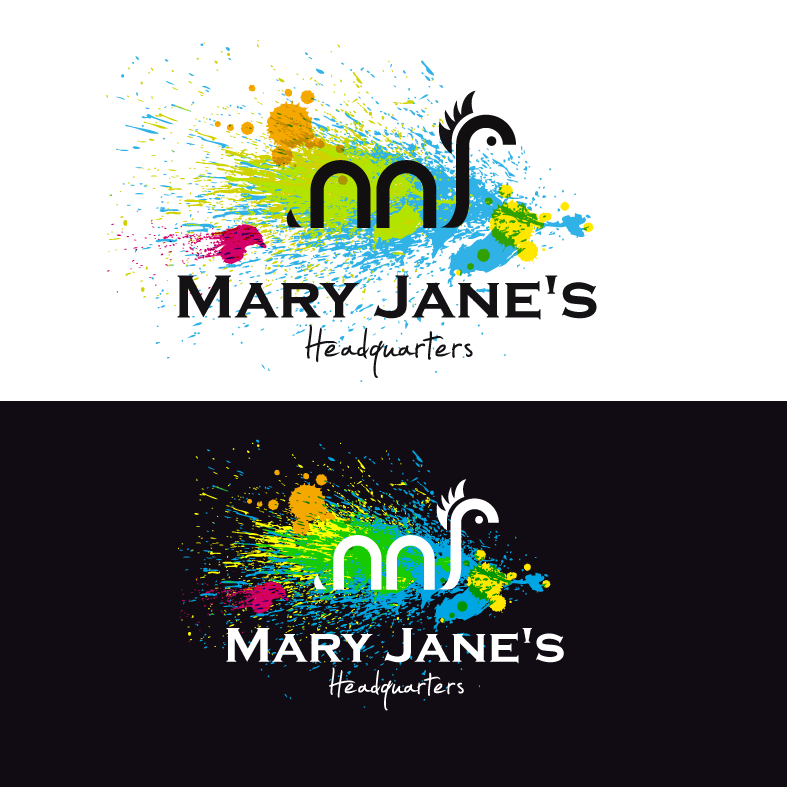 Logo Design by luna - Entry No. 85 in the Logo Design Contest Mary Jane's Headquarters Logo Design.