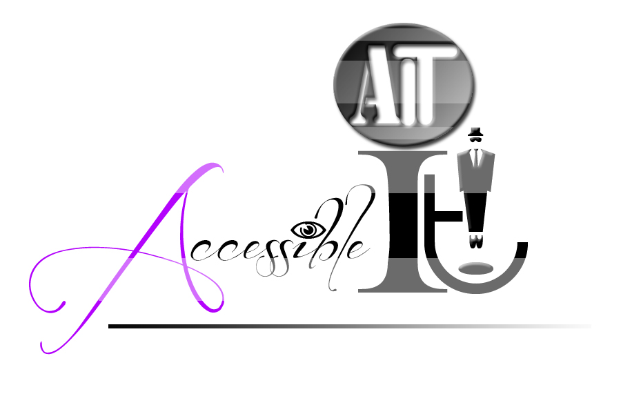 Logo Design by Leonard Anthony Alloso - Entry No. 38 in the Logo Design Contest Logo Design Needed for Exciting New Company Accessible IT.