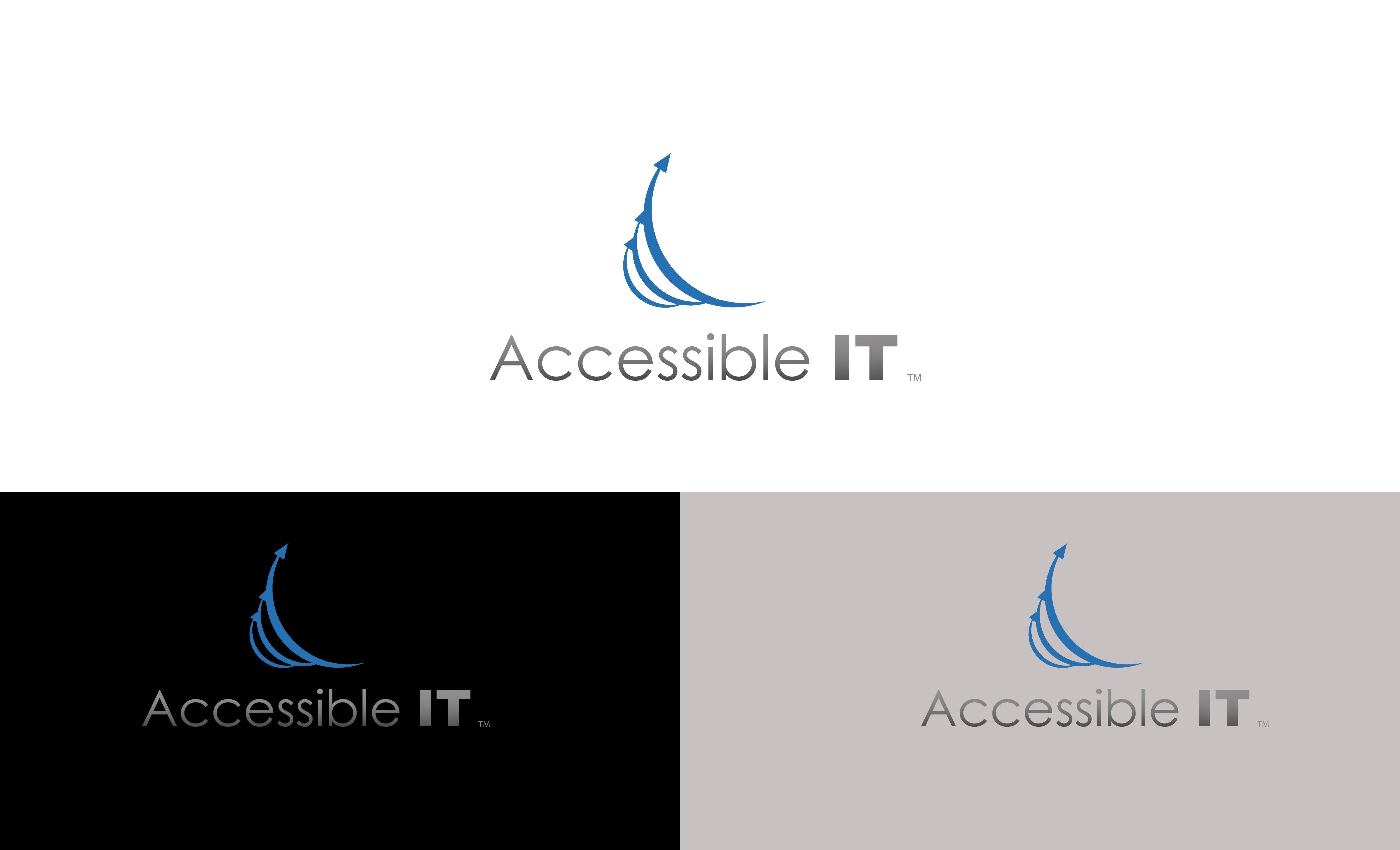 Logo Design by Unique Gallardo - Entry No. 46 in the Logo Design Contest Logo Design Needed for Exciting New Company Accessible IT.