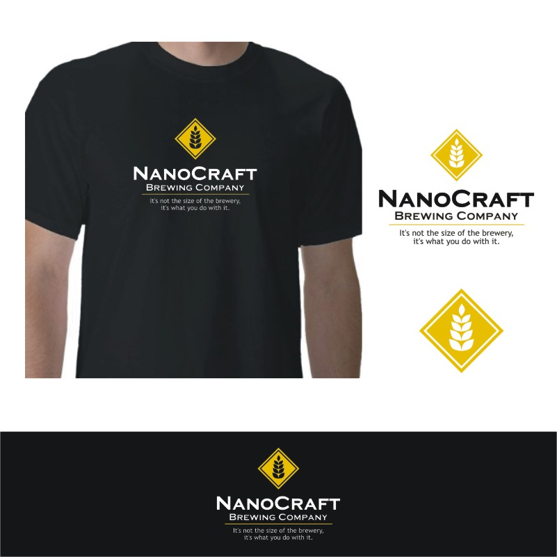 Logo Design by Private User - Entry No. 64 in the Logo Design Contest Unique Logo Design Wanted for NanoCraft Brewing Company.