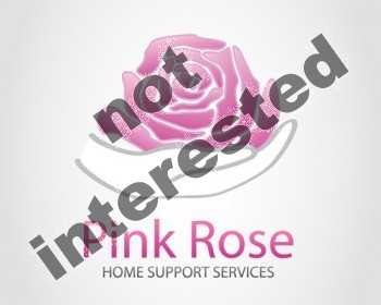 Logo Design by Barcecruz - Entry No. 59 in the Logo Design Contest Pink Rose Home Support Services.