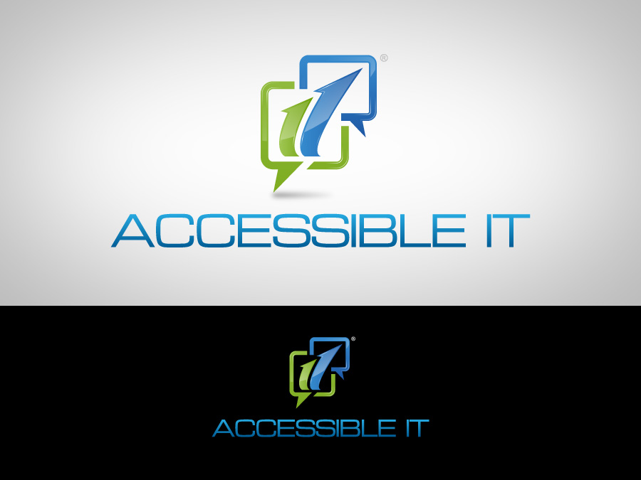 Logo Design by jpbituin - Entry No. 51 in the Logo Design Contest Logo Design Needed for Exciting New Company Accessible IT.