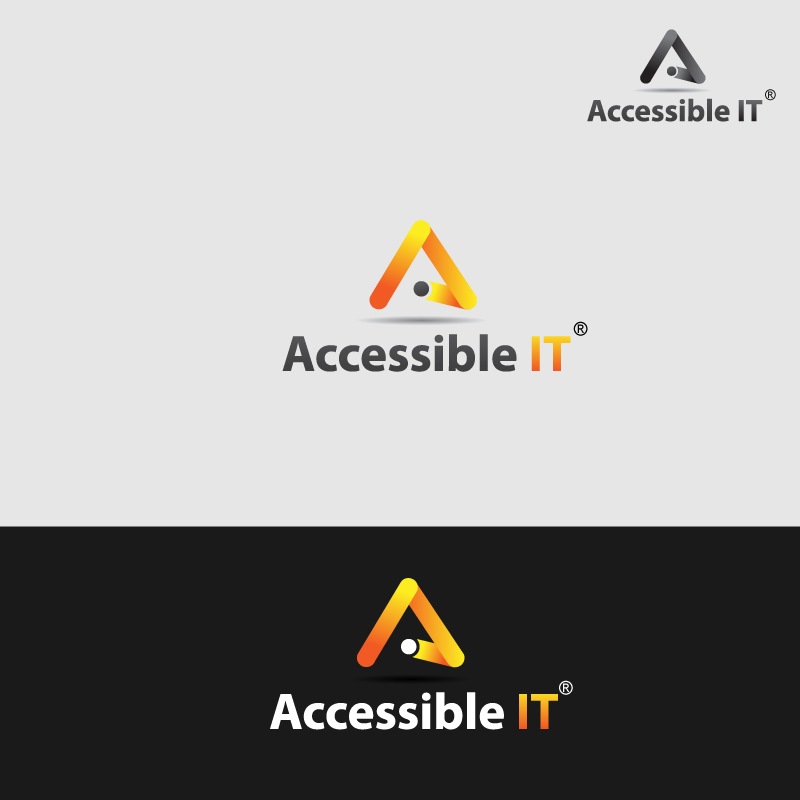 Logo Design by Gouranga Deuri - Entry No. 54 in the Logo Design Contest Logo Design Needed for Exciting New Company Accessible IT.