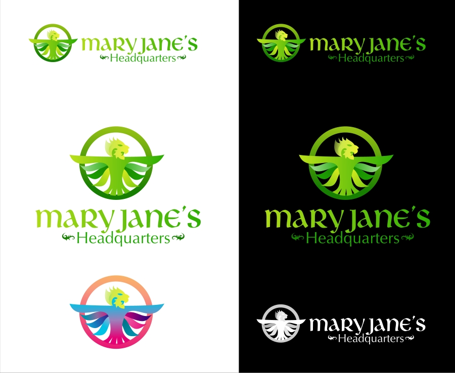 Logo Design by Private User - Entry No. 95 in the Logo Design Contest Mary Jane's Headquarters Logo Design.