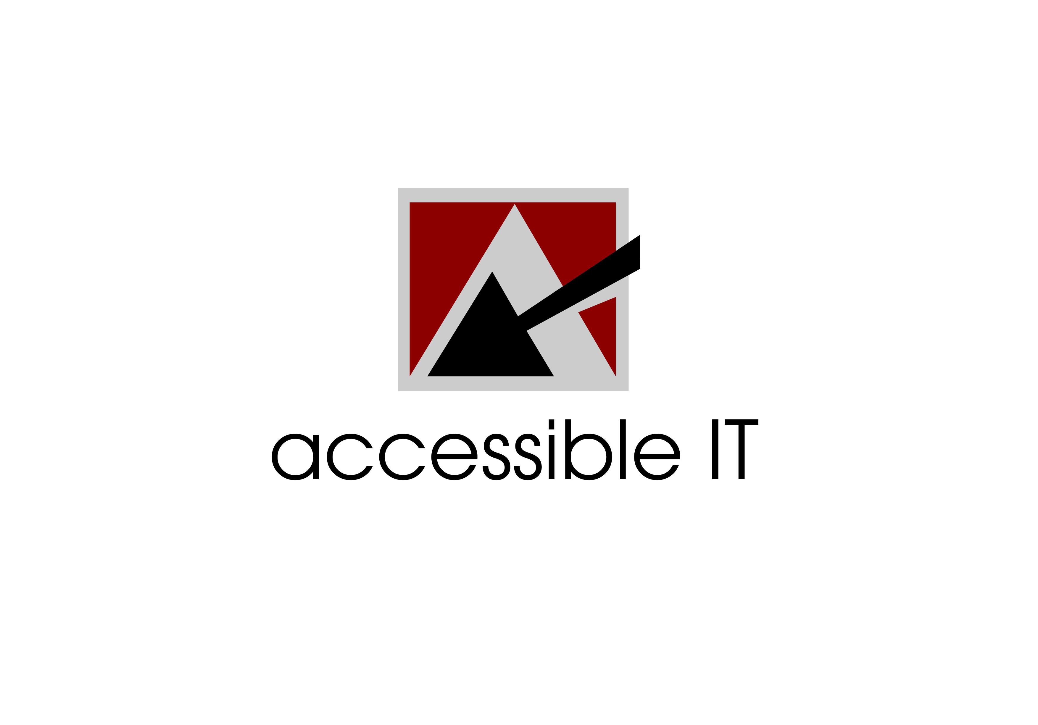 Logo Design by Wilfredo Mendoza - Entry No. 63 in the Logo Design Contest Logo Design Needed for Exciting New Company Accessible IT.