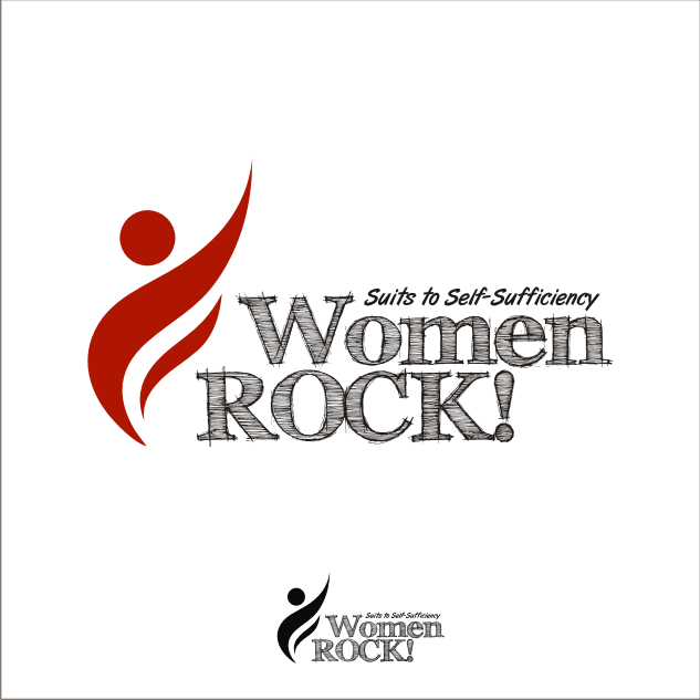 Logo Design by key - Entry No. 24 in the Logo Design Contest Women ROCK! - Dress for Success Pittsburgh.