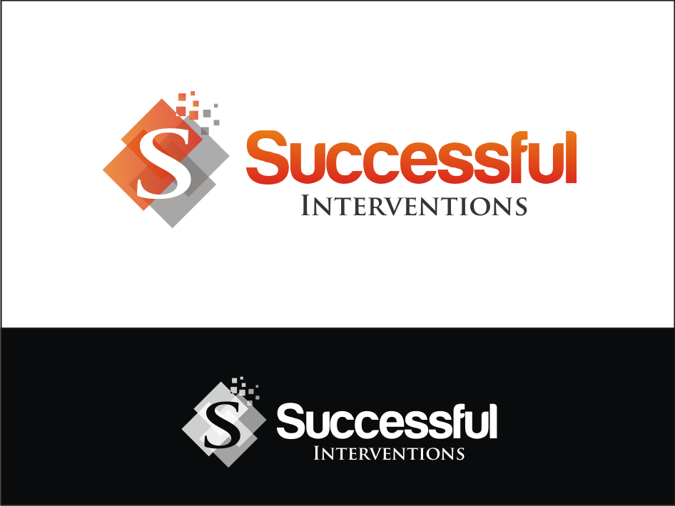 Logo Design by Hisam Drum - Entry No. 16 in the Logo Design Contest Logo Design Needed for Exciting Company Successful Interventions.