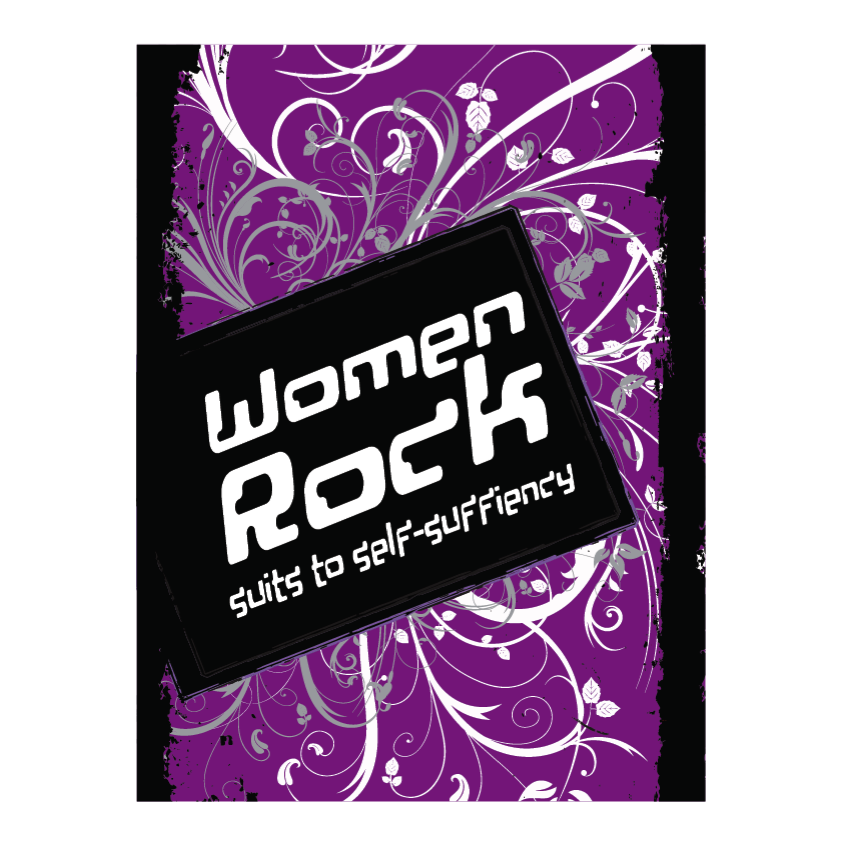Logo Design by limix - Entry No. 26 in the Logo Design Contest Women ROCK! - Dress for Success Pittsburgh.