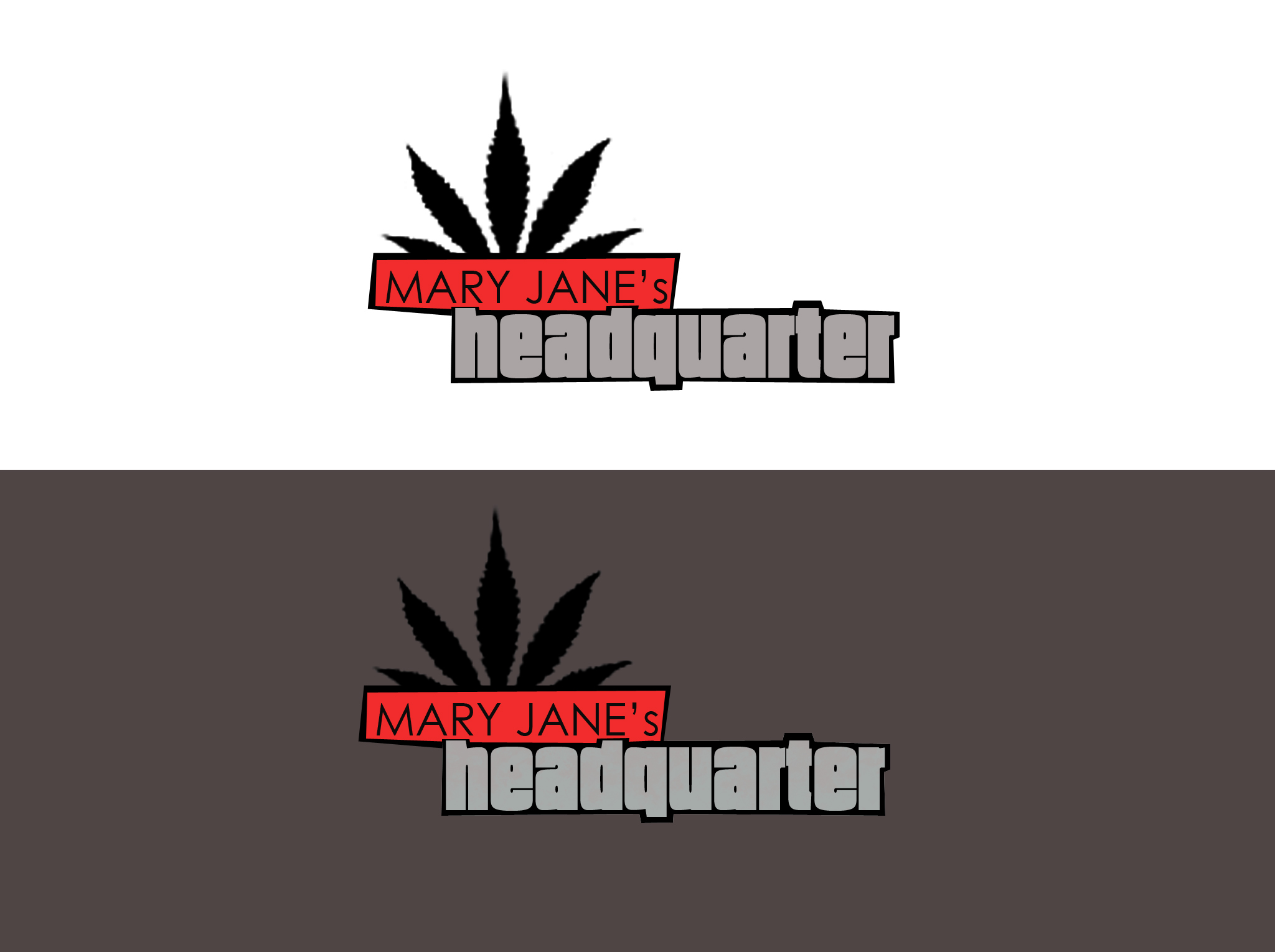 Logo Design by Unique Gallardo - Entry No. 96 in the Logo Design Contest Mary Jane's Headquarters Logo Design.