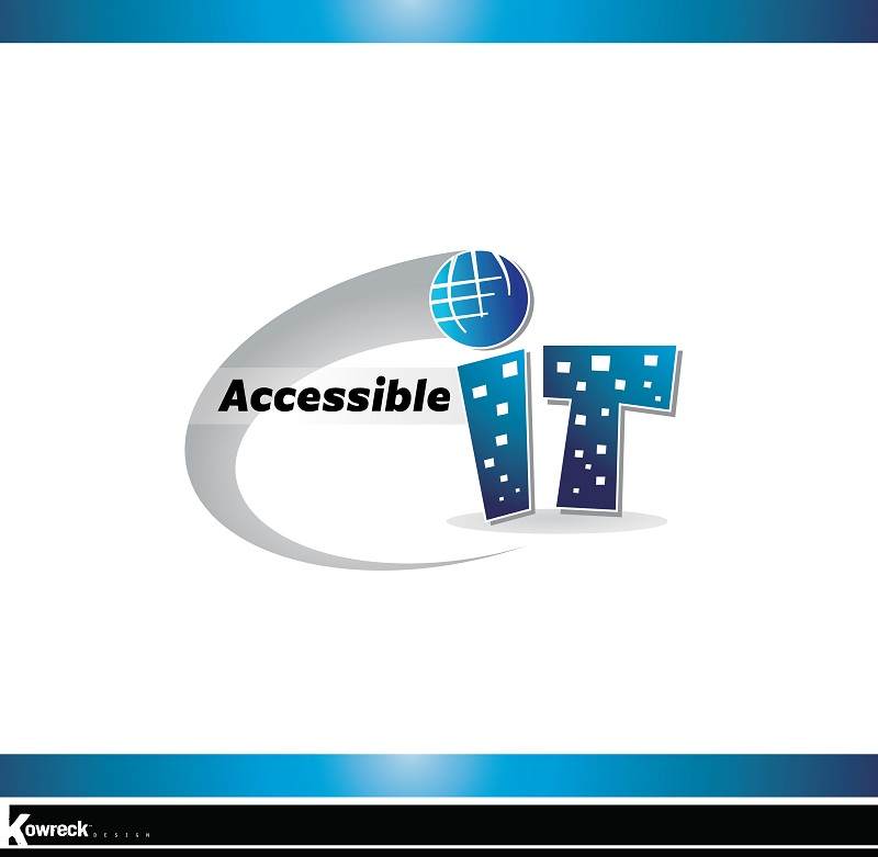 Logo Design by kowreck - Entry No. 80 in the Logo Design Contest Logo Design Needed for Exciting New Company Accessible IT.