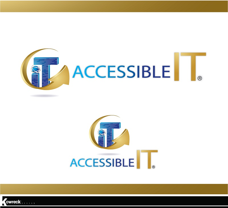Logo Design by kowreck - Entry No. 87 in the Logo Design Contest Logo Design Needed for Exciting New Company Accessible IT.