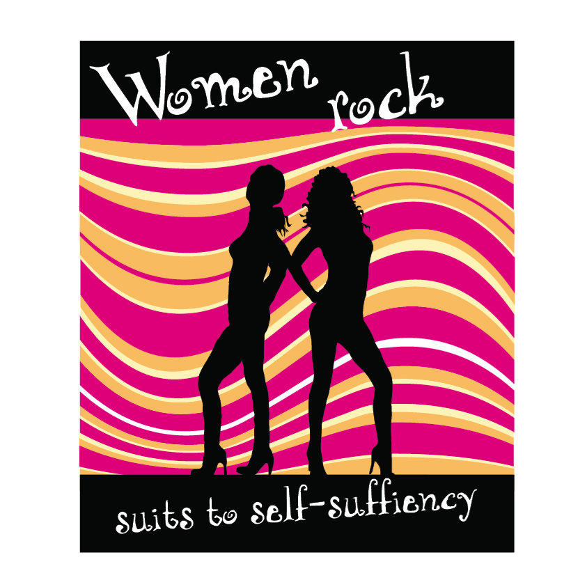 Logo Design by limix - Entry No. 30 in the Logo Design Contest Women ROCK! - Dress for Success Pittsburgh.
