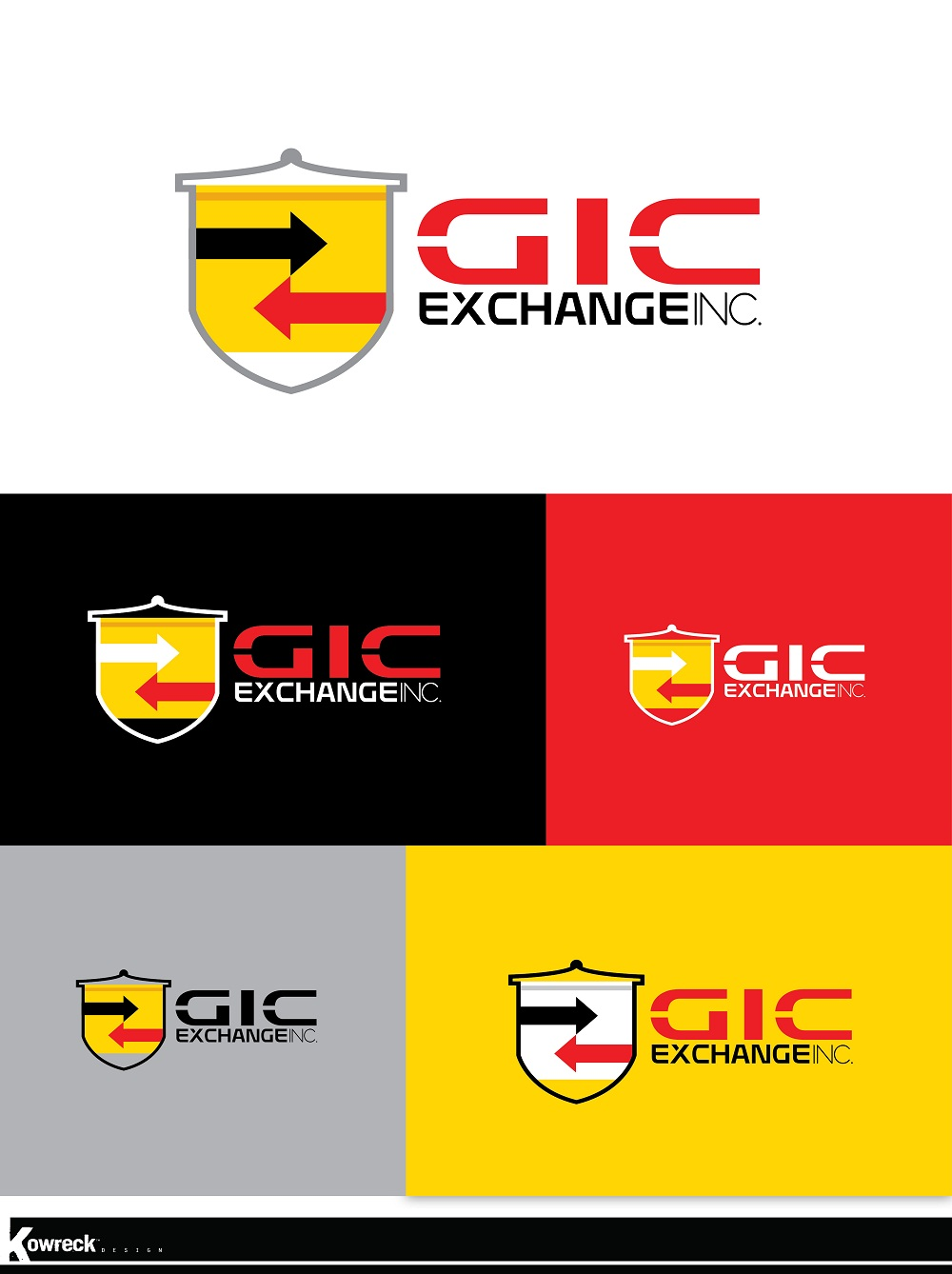 Logo Design by kowreck - Entry No. 138 in the Logo Design Contest Logo Design Needed for Exciting New Company GIC Exchange Inc..