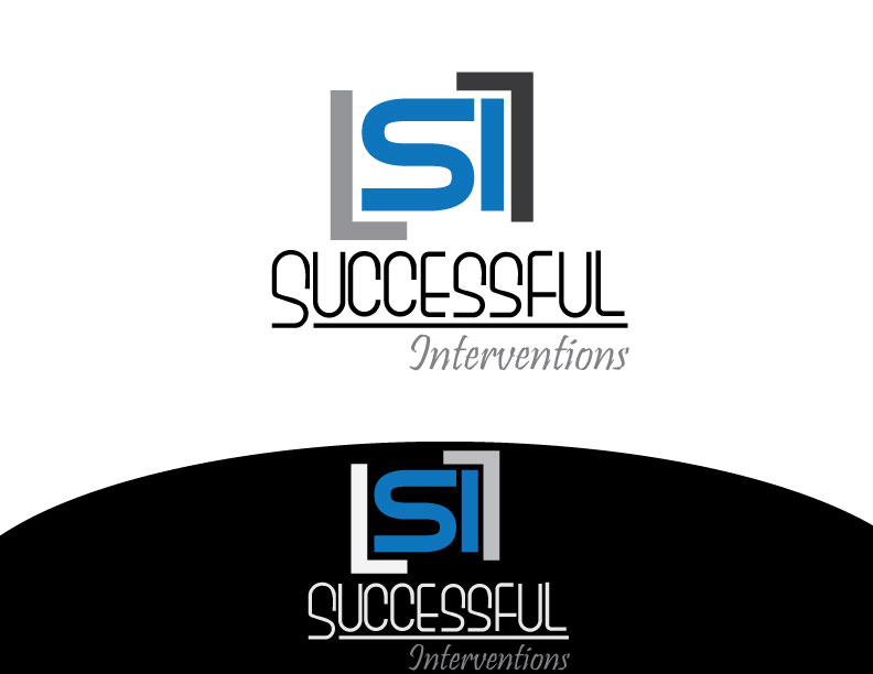 Logo Design by Osama Zia - Entry No. 20 in the Logo Design Contest Logo Design Needed for Exciting Company Successful Interventions.