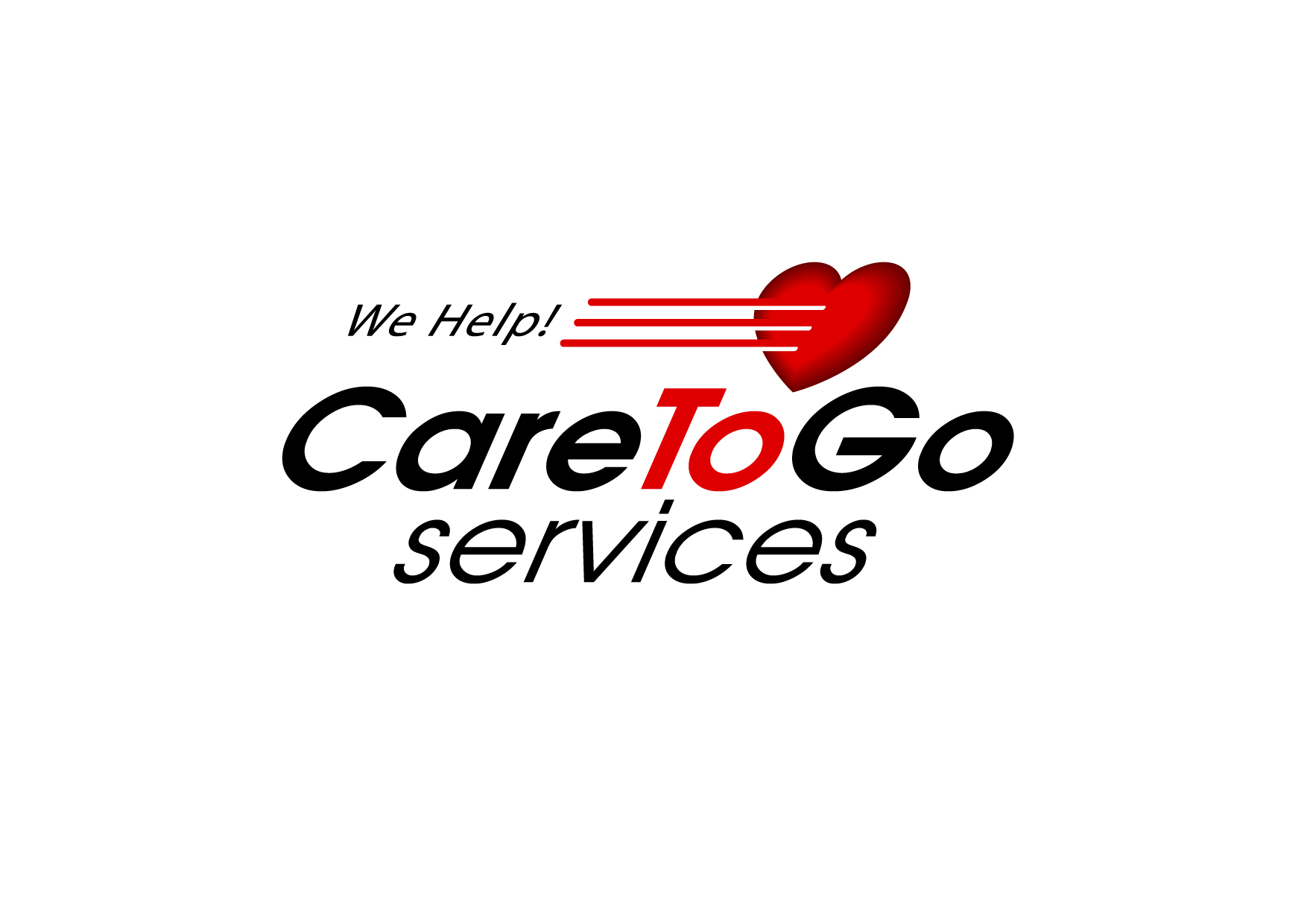 Logo Design by Wilfredo Mendoza - Entry No. 166 in the Logo Design Contest Care To Go Services.