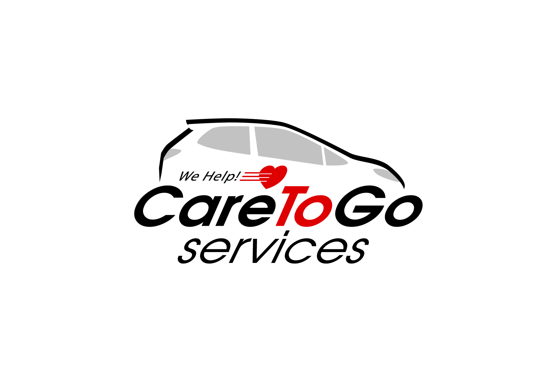 Logo Design by Wilfredo Mendoza - Entry No. 176 in the Logo Design Contest Care To Go Services.