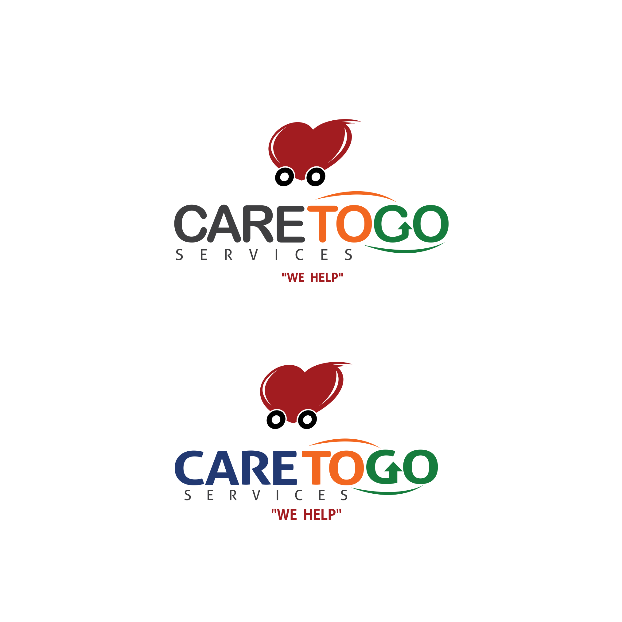 Logo Design by moisesf - Entry No. 191 in the Logo Design Contest Care To Go Services.