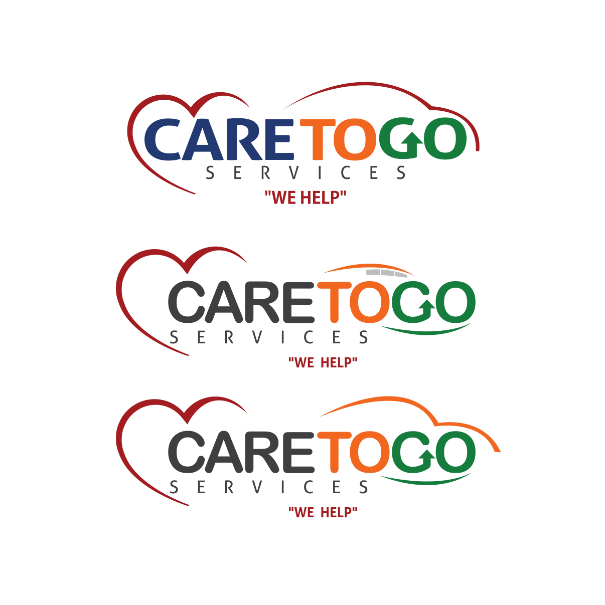Logo Design by moisesf - Entry No. 203 in the Logo Design Contest Care To Go Services.