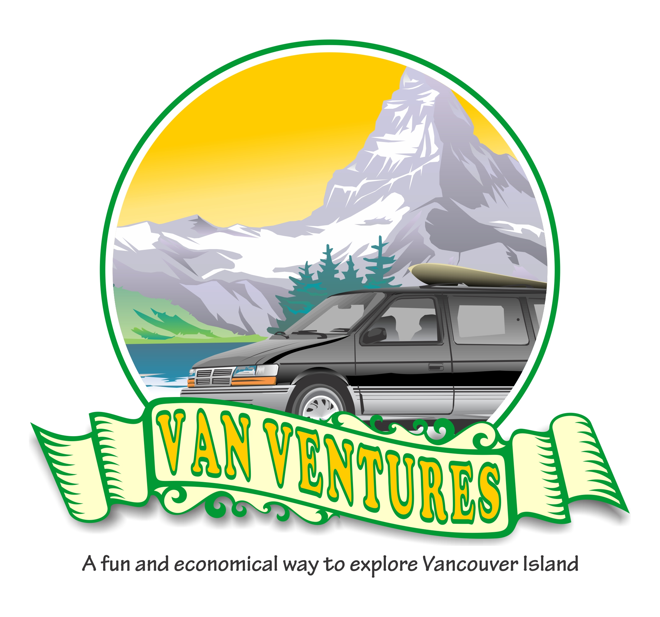 Logo Design by Yohanes Yunianto - Entry No. 11 in the Logo Design Contest New Logo Design for Van Ventures.
