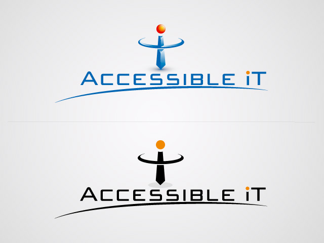 Logo Design by ffer1985 - Entry No. 112 in the Logo Design Contest Logo Design Needed for Exciting New Company Accessible IT.