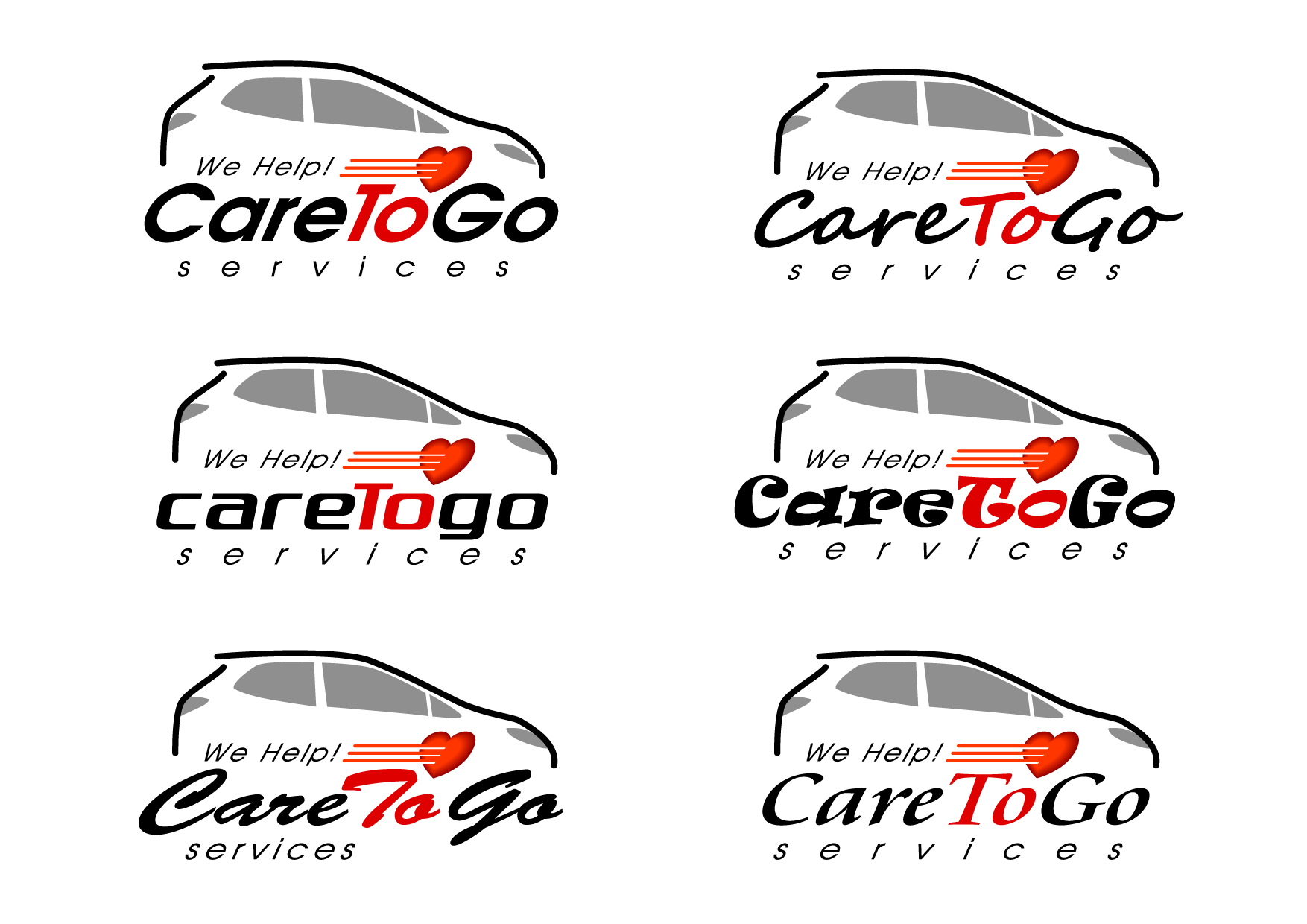 Logo Design by Wilfredo Mendoza - Entry No. 217 in the Logo Design Contest Care To Go Services.