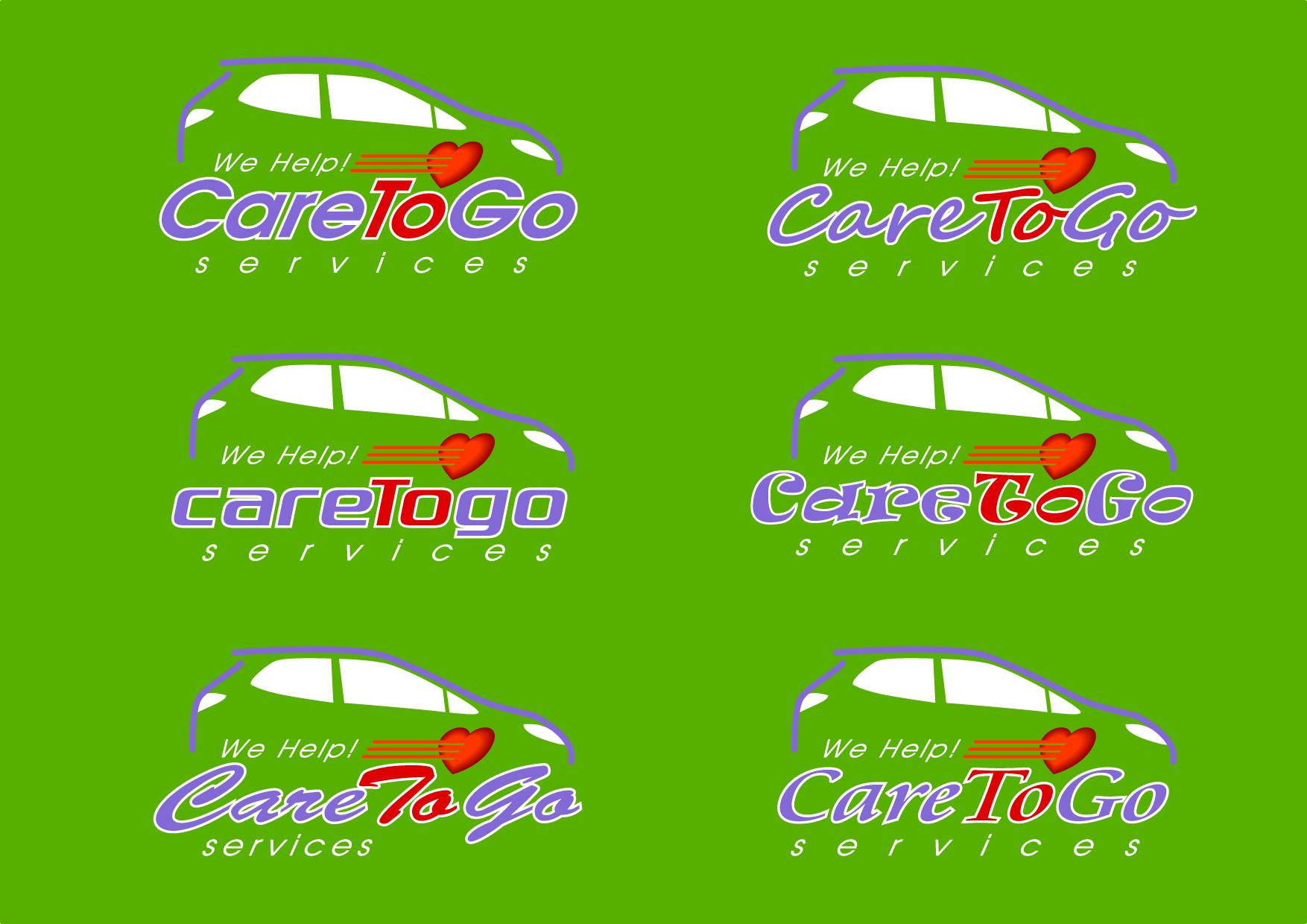 Logo Design by Wilfredo Mendoza - Entry No. 218 in the Logo Design Contest Care To Go Services.
