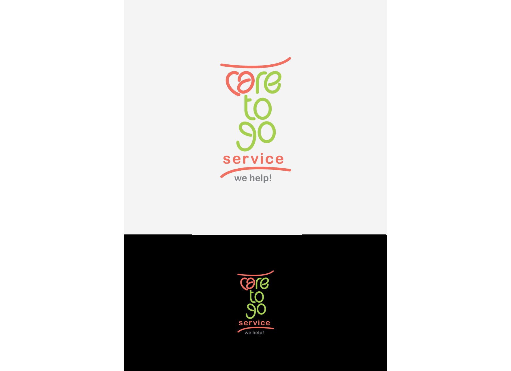 Logo Design by tanganpanas - Entry No. 219 in the Logo Design Contest Care To Go Services.