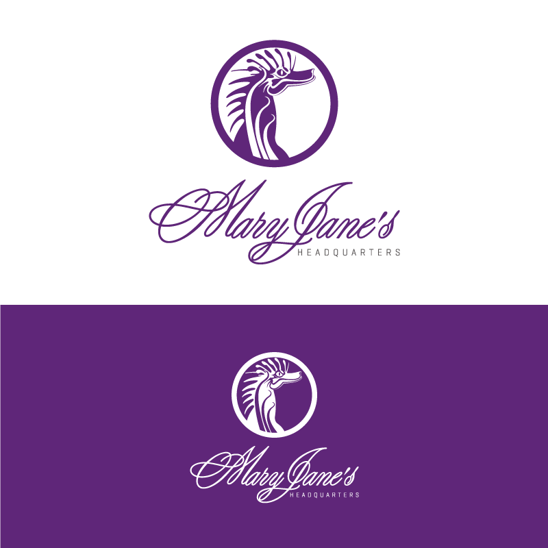 Logo Design by Private User - Entry No. 102 in the Logo Design Contest Mary Jane's Headquarters Logo Design.