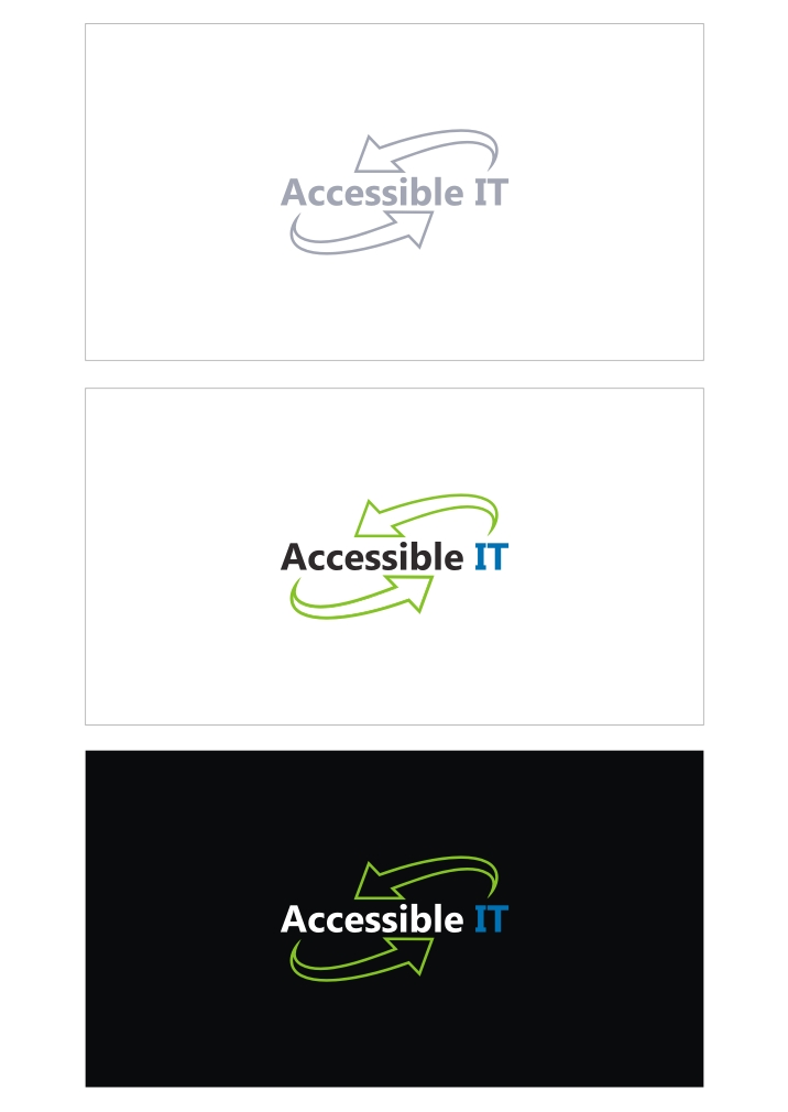 Logo Design by RO NI - Entry No. 136 in the Logo Design Contest Logo Design Needed for Exciting New Company Accessible IT.