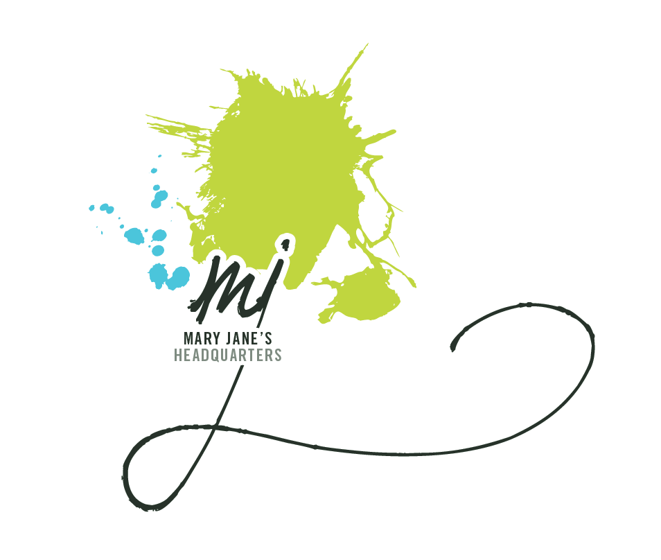 Logo Design by Kayla Labatte - Entry No. 109 in the Logo Design Contest Mary Jane's Headquarters Logo Design.