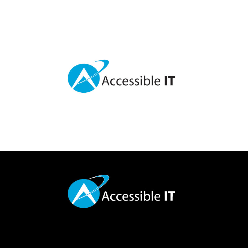 Logo Design by Private User - Entry No. 147 in the Logo Design Contest Logo Design Needed for Exciting New Company Accessible IT.