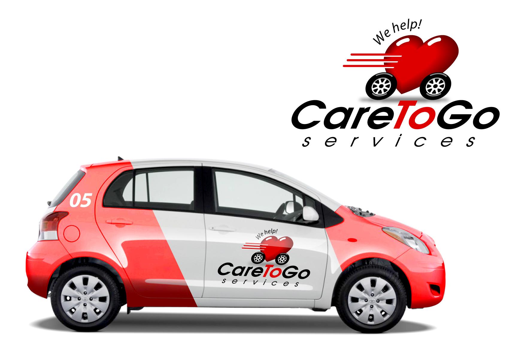 Logo Design by Wilfredo Mendoza - Entry No. 240 in the Logo Design Contest Care To Go Services.