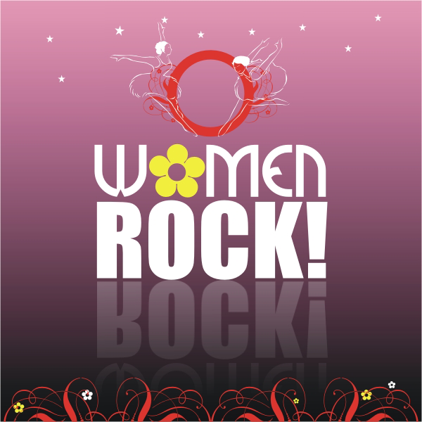 Logo Design by aspstudio - Entry No. 40 in the Logo Design Contest Women ROCK! - Dress for Success Pittsburgh.