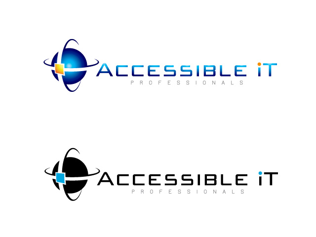 Logo Design by ffer1985 - Entry No. 155 in the Logo Design Contest Logo Design Needed for Exciting New Company Accessible IT.
