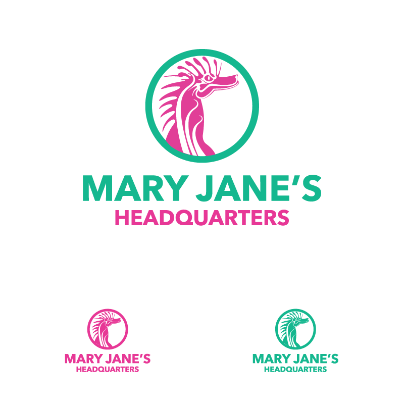 Logo Design by Private User - Entry No. 114 in the Logo Design Contest Mary Jane's Headquarters Logo Design.