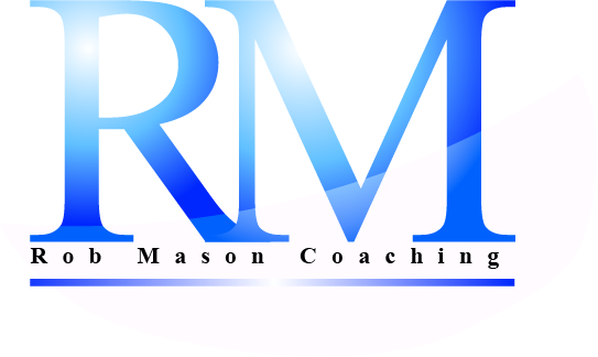 Logo Design by JOHN MICHAEL CUIZON - Entry No. 4 in the Logo Design Contest New Logo Design Needed for Exciting Company Rob Mason Coaching.