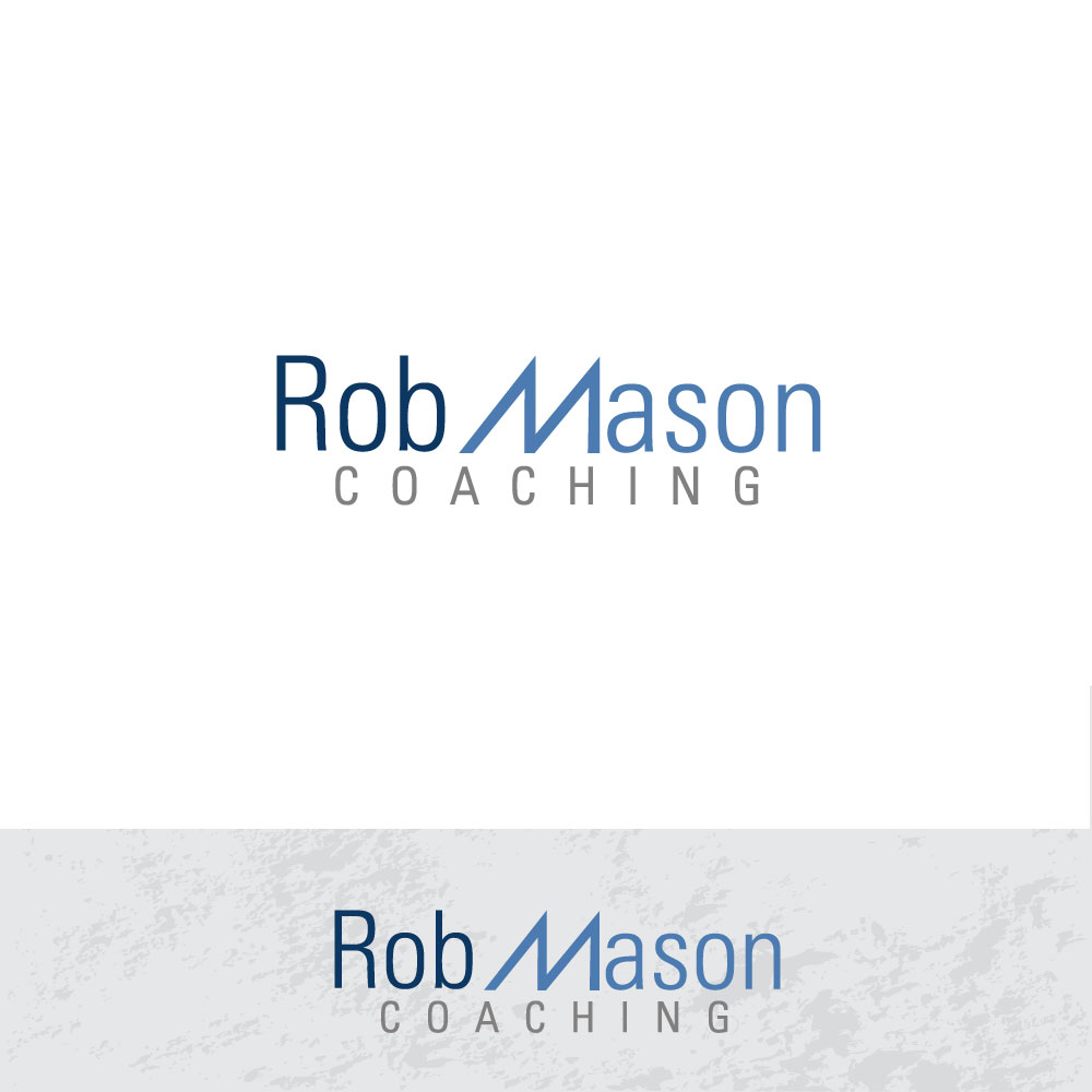 Logo Design by rockin - Entry No. 6 in the Logo Design Contest New Logo Design Needed for Exciting Company Rob Mason Coaching.