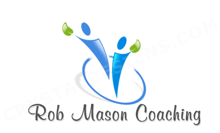 Logo Design by Crystal Desizns - Entry No. 8 in the Logo Design Contest New Logo Design Needed for Exciting Company Rob Mason Coaching.